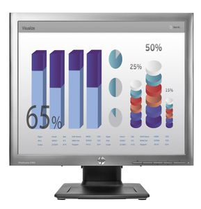 "HP E190i 19"" LED Backlit IPS 5:4 Monitor Silver/ Black (E4U30AA)"