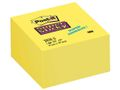 POST-IT Notes POST-IT SuperSticky kub76x76mm gul