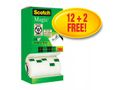 SCOTCH Tape SCOTCH® Magic 810 12+2rl gratis(14)