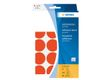 HERMA multi-purpose labels, ø 32 mm, red, (480)
