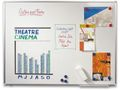 STAPLES Whiteboard STAPLES emalj 200x100cm