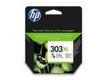 HP ORIGINAL HP 303XL HIGH YIELD TRI-COLOR INK CARTRIDGE