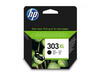 HP 303XL Sort Blækpatron,  Original (T6N04AE#UUS)