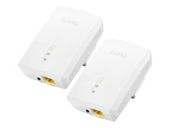 ZYXEL Twin Pack 1200 Mbps Powerline Gigabit Ethernet Adapter