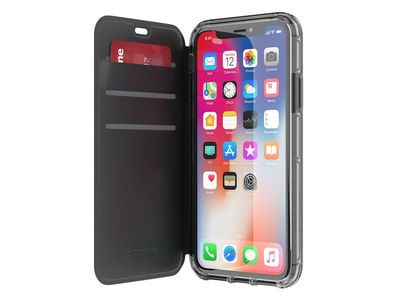 GRIFFIN Griffin Survivor Clear Wallet iPhone X - Black/ Clear (TA43989)