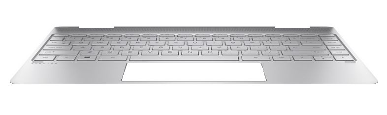 HP TOP COVER & Keyboard (Nordic) (907335-DH1)