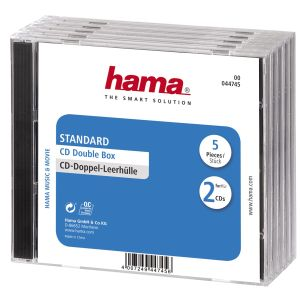 HAMA CD double box (44745)