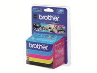BROTHER LC900 Valuepack cmyk (LC900VALBPDR)