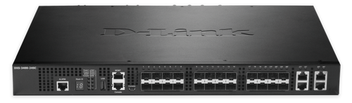 D-LINK 24-PORT LAYER2 MANAGED 10G SFP+ STACK SWITCH 4X COMBO            IN CPNT (DXS-3400-24SC)