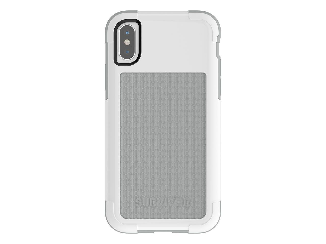GRIFFIN iPhone X Survivor Fit White/Grey (TA43980)