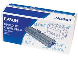 Epson Black Toner Cartridge High Yield (6000 Pages) For EPL-6200 (C13S050166)