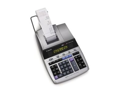 CANON MP1411-LTSC deskcalculator print 14-digit display and two-colored ink jet printing on ribbon (2497B001)