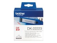 BROTHER Label roll/ white 50mmx30, 48m f QL-series (DK22223)