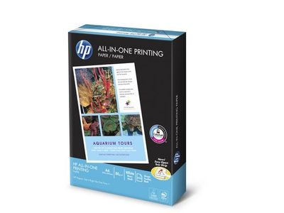 HP All-in-One utskriftspapper - 500 ark/ A4/ 210 x 297 mm (CHP710)