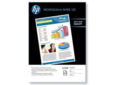 HP Professional Glossy Laser Paper A4 120 g/m2 250 sheet 210 x 297 mm (CG964A)
