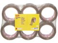 STAPLES Packtejp STAPLES PVC 50mmx66m brun