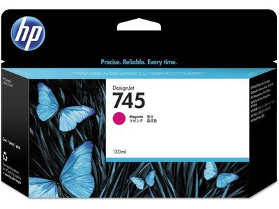 HP 745 Ink Cartridge Magenta 130ml (F9J95A)