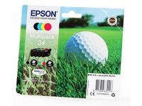 EPSON T3466 4-colours Multipack ink