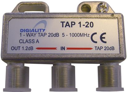 DIGIALITY 1-way tap 1.2 /20 dB (4820)