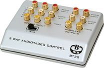 B-TECH 3-Way Audio Video (BT25/S)
