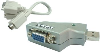 ST LAB USB to 2xSerial Dongle (U-360)