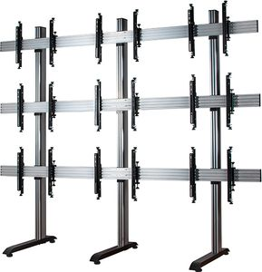 B-TECH 3x3 Videowall Stand (BT8370-3X3-60/BS)