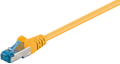 MICROCONNECT SFTP CAT6A 1M Yellow LSZH