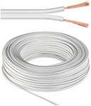 MICROCONNECT Speaker cable, 50m, white