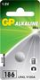 GP ALKALINE BUTTON CELL LR43