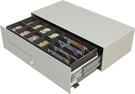 APG Micro Slide-Out Cash Drawer (MIC237A-WH4522)