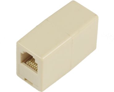 MICROCONNECT ADAPTER RJ12-RJ12 F/F 6P (MPK200)