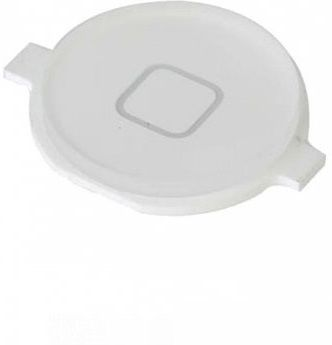 MicroSpareparts Apple iPhone 4 White Home (MSPP70734)