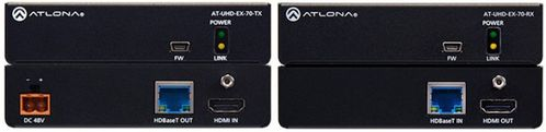 ATLONA AT-UHD-EX-70-KIT UHD HDMI o HDBT kit w PoE (AT-UHD-EX-70-KIT)