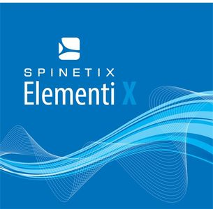 SPINETIX Elementi X. digital signage SW Contains 1 license key for 1 software (SX-SW-EL-X)