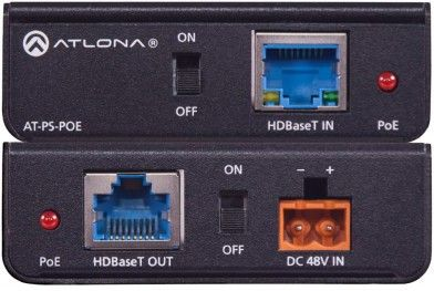 Atlona Mid-span Power supply for PoE (AT-PS-POE)