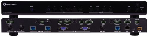 ATLONA UHD 6-Input Multi-Format Switcher Mirrored HDMI and HDBaseT Out.  AASC (AT-UHD-CLSO-612ED)