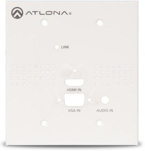 Atlona (No Buttons Face Plate) for HDVS-150TX-WP (AT-HDVS-TX-WP-NB)