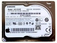 APPLE hard disk, Samsung 120G SATA (661-4751)