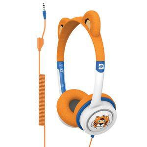 IFROGZ LITTLE ROCKERS COSTUME HEADPHONES ORANGE TIGER 2017 (IFLRCC-TG0)