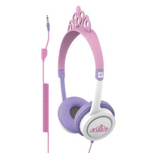 IFROGZ LITTLE ROCKERS COSTUME HEADPHONES PINK PRINCESS 2017 (IFLRCC-PR0)
