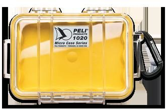 PELI 1020 Cases Clear/ Yellow Liner (1020-027-100E)