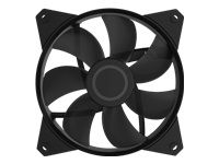 Cooler Master MF120L Non LED Fläkt 120 x 120 x 25mm, 1200 RPM, 32,5 CFM, 25 dBA, 3-Pin