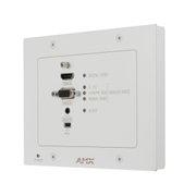 AMX DXLink Multi in Cat TX/Wallplate/Wh HDCP White