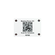 AMX RMS Enterprise QR Door Sign AMX