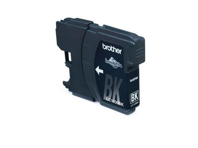 BROTHER LC-1100 ink cartridge black standard capacity 9.5ml 450 pages 1-pack (LC1100BK)