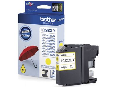 BROTHER Tinte LC-225XLY Yellow (LC225XLY)