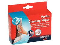 ESSELTE Wipers for screen cleaner 12wet/ 12dry (67120)