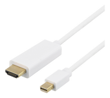 DELTACO MDP till HDMI Full HD 60Hz White 5m