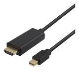 DELTACO MDP till HDMI Full HD 60Hz Black 5m