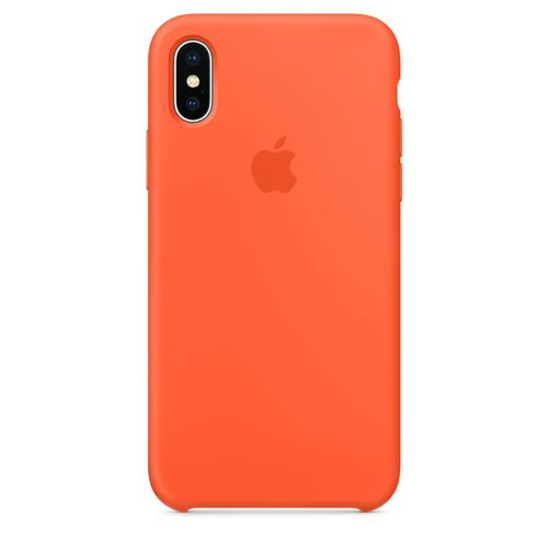 APPLE IPHONE X SILICONE CASE SPICY ORANGE ACCS (MR6F2ZM/A)